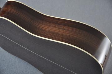 Martin Custom Shop D12-28 Adirondack Sunburst 12-String Acoustic Guitar #2166941 - Side
