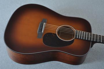 Martin Custom Shop D-18 Adirondack Ambertone Acoustic Guitar #2166927 - Top