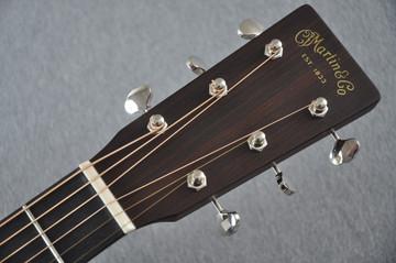 Martin Custom Shop D-18 Adirondack Ambertone Acoustic Guitar #2166927 - Headstock