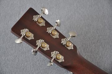 Martin Custom Shop D-18 Adirondack Ambertone Acoustic Guitar #2166927 - Back Headstock