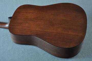 Martin Custom Shop D-18 Adirondack Ambertone Acoustic Guitar #2166927 - Back Angle