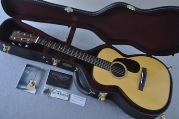 Martin Custom Shop 0-18 Adirondack Spruce Acoustic Guitar #2164198 - Case