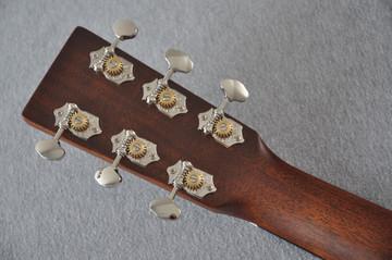 Martin Custom Shop 0-18 Adirondack Spruce Acoustic Guitar #2186818 - Back Headstock