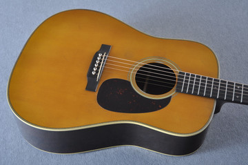 Martin Custom Shop D-28 Authentic 1937 VTS Aged #2175182 - Top Angle
