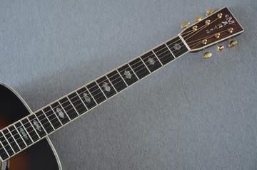 Martin D-41 (2018) Standard 1935 Sunburst Acoustic Guitar #2193531 - Neck