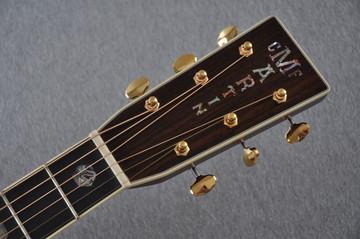 Martin D-41 (2018) Standard 1935 Sunburst Acoustic Guitar #2193531 - Headstock