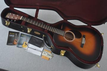 Martin Custom Shop OMCPA4 Adirondack 1935 Sunburst Fishman VT Enhance #2193589 - Case