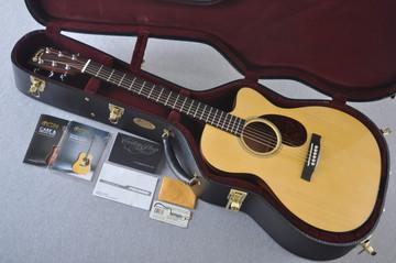 Martin Custom Shop OMCPA4 Adirondack Fishman F1 Analog #2193590 - Case