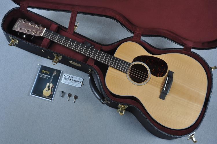 Martin Custom Shop 000-18 VTS Adirondack Spruce Acoustic Guitar #1949717