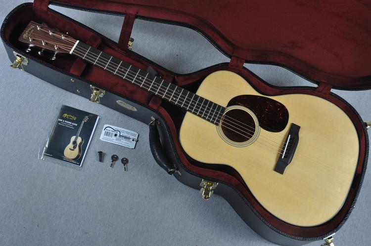 Martin Custom Shop 000-18 Swiss Spruce Acoustic Guitar #1949715 - Case