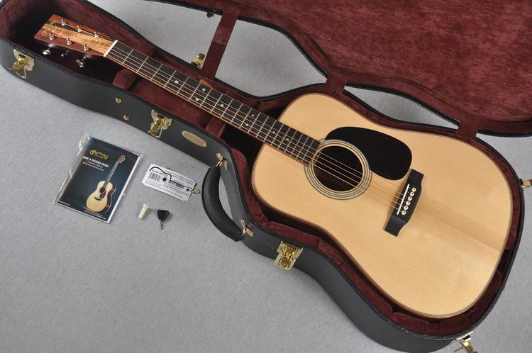 Martin Custom Shop D-35 VTS Adirondack Guatemalan Koa Wedge #1952107 - Case