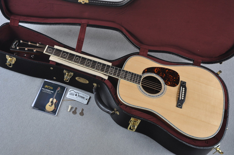 2015 Martin Limited Edition HD-35 CFM IV 60th Acoustic Guitar #1913316 - Case