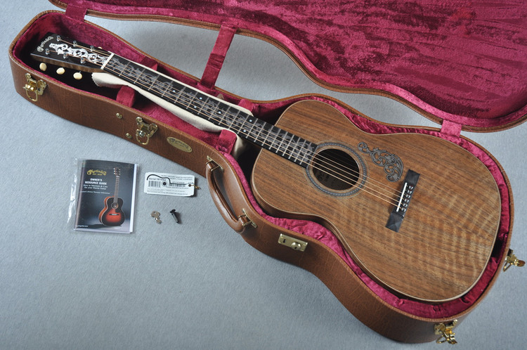 2016 Martin SS-OMVine-16 Limited Edition Acoustic Guitar #1974562 - Case