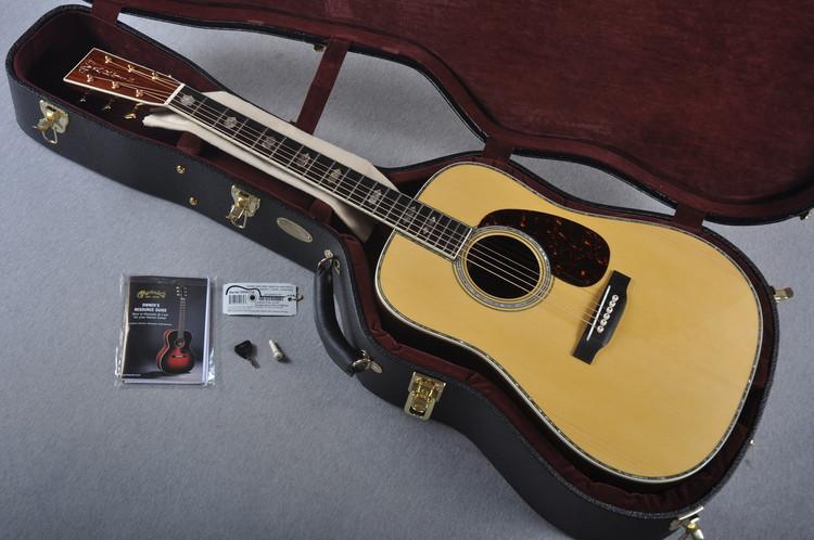 2016 Martin Custom Shop D-45 Adirondack Guatemalan Acoustic Guitar #2000210 - Case