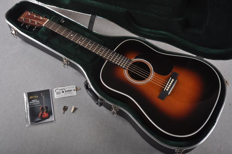 2016 Martin Custom Shop HD-28 Guatemalan Rosewood 1935 Sunburst #2023325 - Case