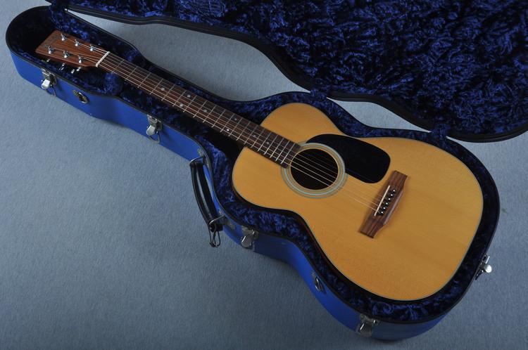 1992 Martin 0-18 Acoustic Guitar with Calton 0-14 Case #521305 - Case