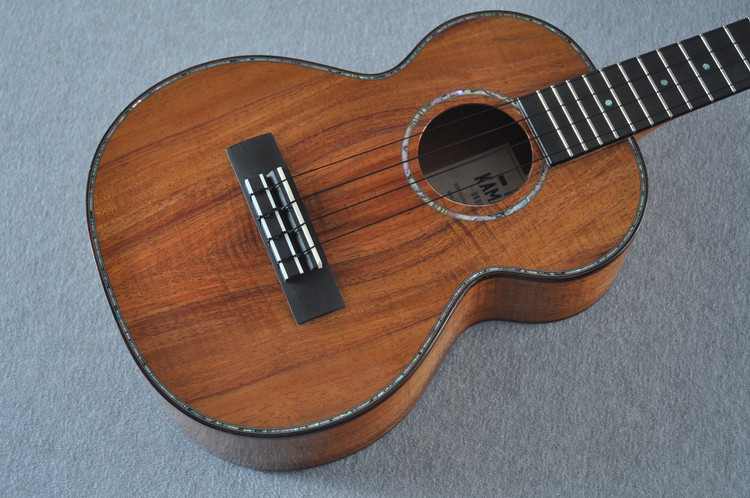 Kamaka Tenor Deluxe Ukulele HF-3 D2i - New 2017 - Solid Koa - Slotted Head - 170398