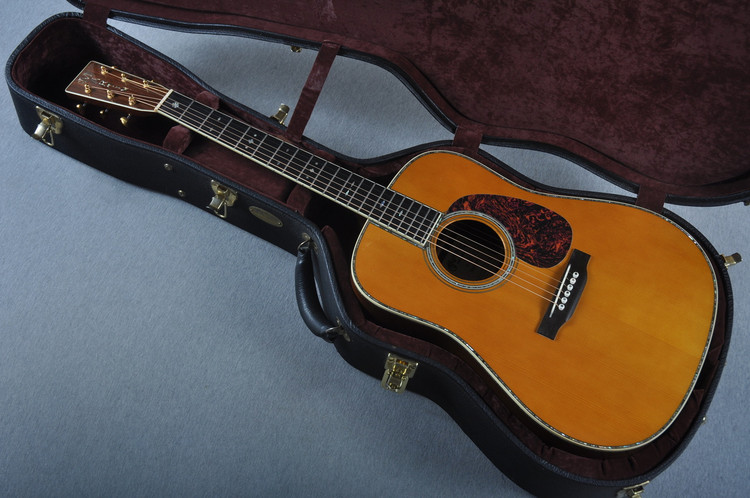 Used 2007 Martin D-45 Marquis Adirondack Indian Rosewood #1251762 - Case