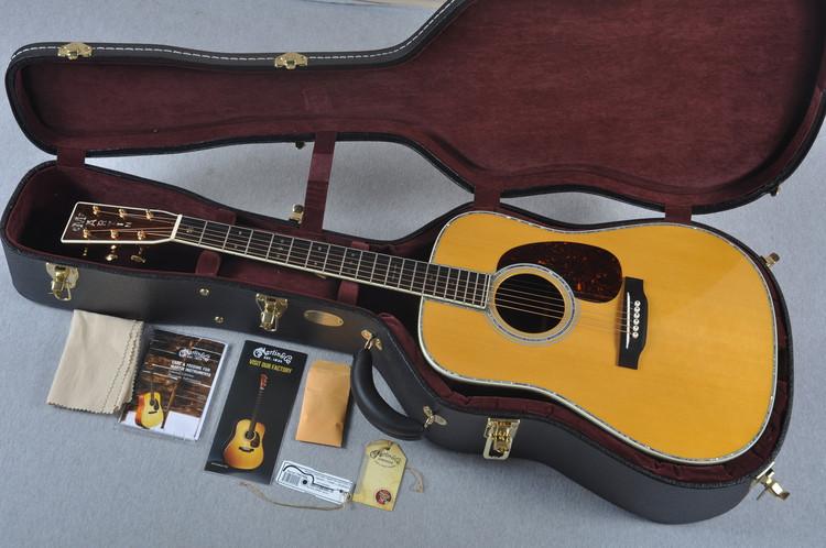 Used 2014 Martin D-45V Acoustic Guitar #1842990 - Case