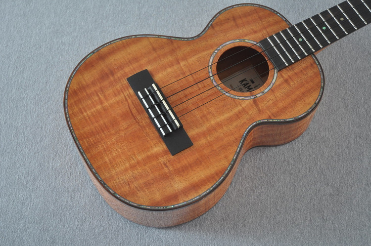Kamaka Tenor Deluxe Ukulele HF-3 D2i - New 2018 - Solid Koa - Slotted Head - 180126