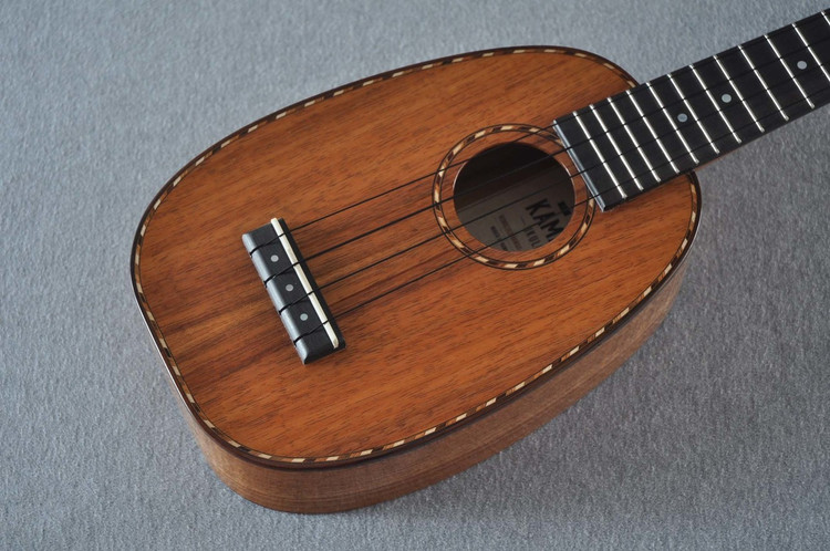 Kamaka Deluxe Pineapple Ukulele HP-1D - New 2018 - Solid Koa - Made in USA - 180669