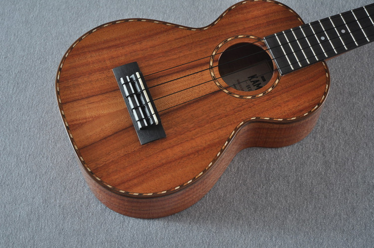 Kamaka Concert Deluxe Ukulele HF-2D - Solid Koa - Made in USA - 180670