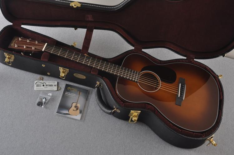 2017 Martin Custom Shop 00-18 Adirondack Ambertone Acoustic Guitar #2074084 - Case
