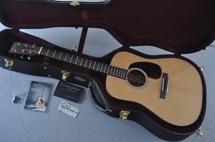 2017 Martin Custom Shop D-18 VTS Sitka Spruce Waverly Acoustic Guitar #2083132 - Case