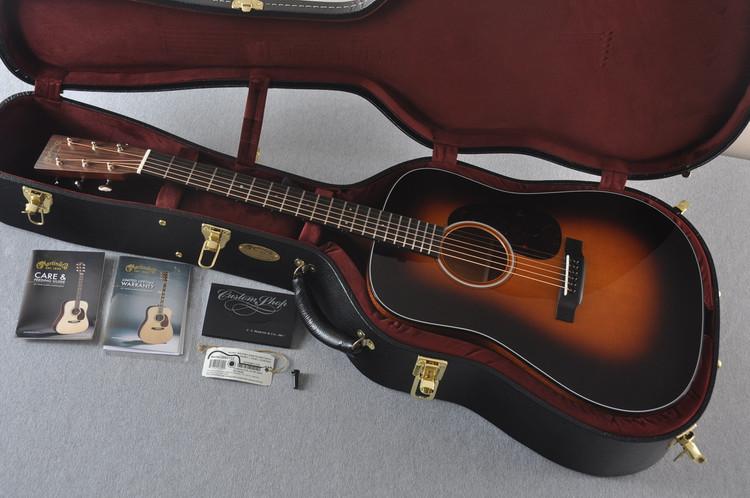 2017 Martin Custom Shop D-18 VTS Sitka 1935 Sunburst Waverly Acoustic Guitar #2083133 - Case