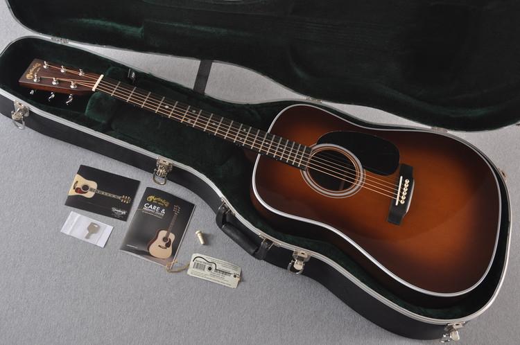 2016 Martin D-28 Standard Ambertone Dreadnought Acoustic Guitar #2062552 - Case