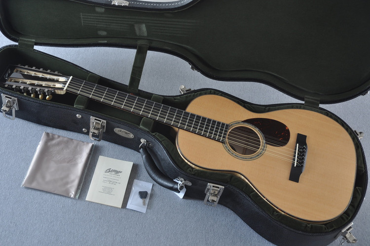 2013 Collings 03 Maple 12 String Sitka Maple #21876 - Case