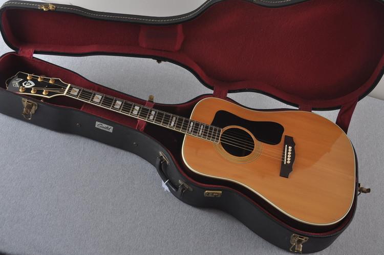 1973 Guild D-55 w/ OHSC Westerly #83984 - Case