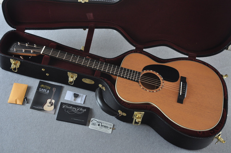 Martin Custom Shop 000-15 Tangerine Acoustic Guitar #2109318 - Case