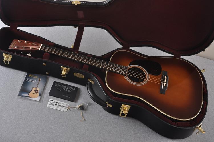 Martin Custom Shop HD-28V Madagascar Rosewood Ambertone Acoustic #2102599 - New - Case