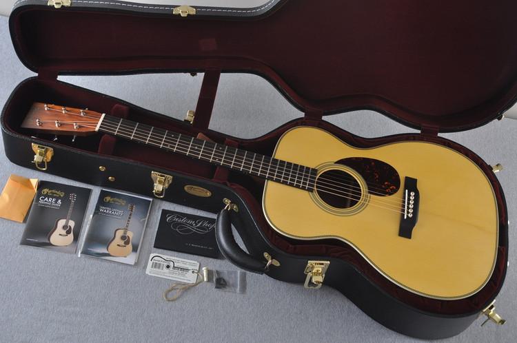 Martin Custom Shop OM-28 Adirondack Cocobolo Acoustic Guitar #2123732 - Case