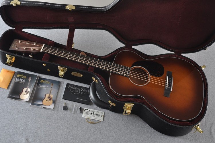 Martin Custom Shop 00-18 Adirondack Ambertone Top Acoustic Guitar #2121996 - Case