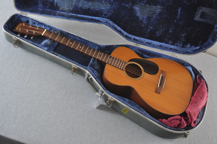 1955 Martin 0-18 Vintage Acoustic Guitar #143936 - Case