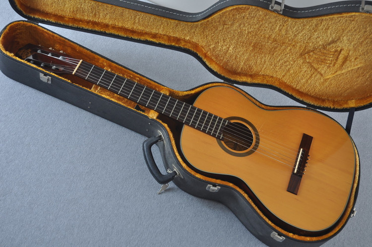 1960's Favilla C8 Solo Classical Nylon Guitar #500653 - Case
