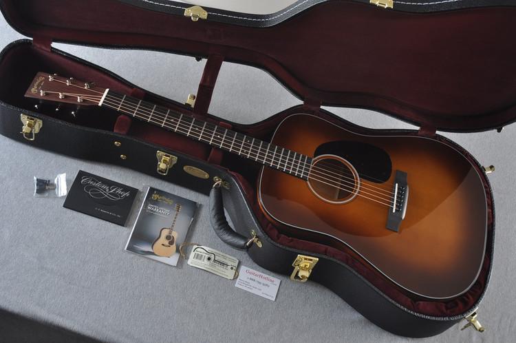 Martin Custom Shop D-18 Adirondack Spruce Ambertone Acoustic Guitar #2146972 - Case