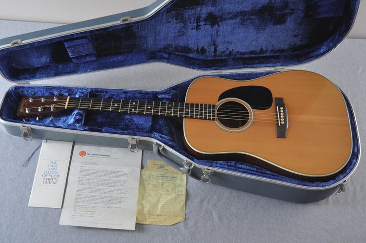 1977 Martin HD-28 Acoustic Guitar #394158 - Case