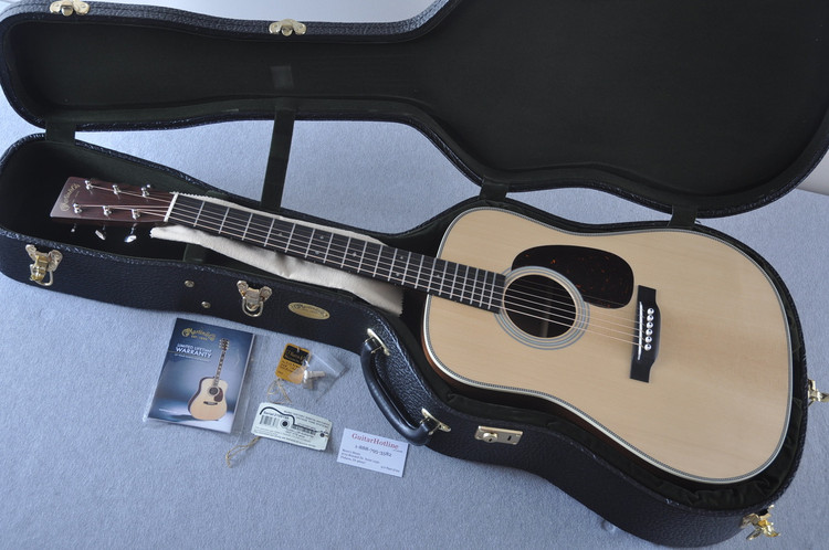 Martin D-28 Authentic 1937 VTS Adirondack Acoustic Guitar #2159146 - Case