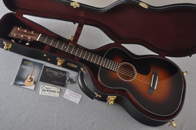 Martin Custom Shop 0-18 Adirondack Spruce Sunburst Acoustic Guitar #2166932 - Case