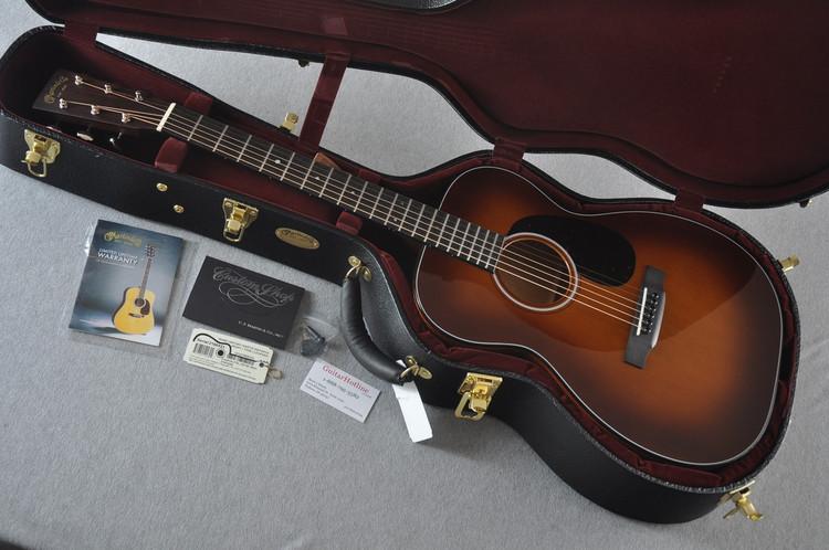 Martin Custom Shop 00-18 Adirondack Ambertone Top Acoustic Guitar #2166931 - Case