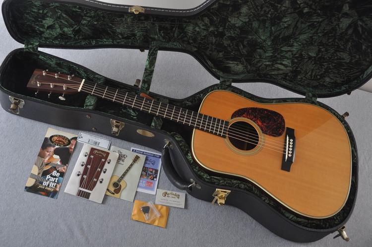 2005 Martin HD-28V Vintage Series Acoustic Guitar #1051892 - Case