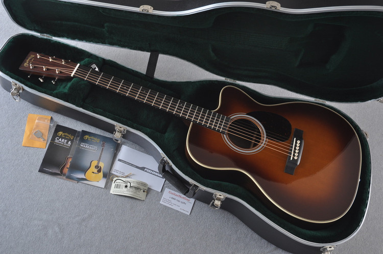 Martin OMC-28E Fishman Aura VT Enhance Acoustic Electric #2176980 - Case