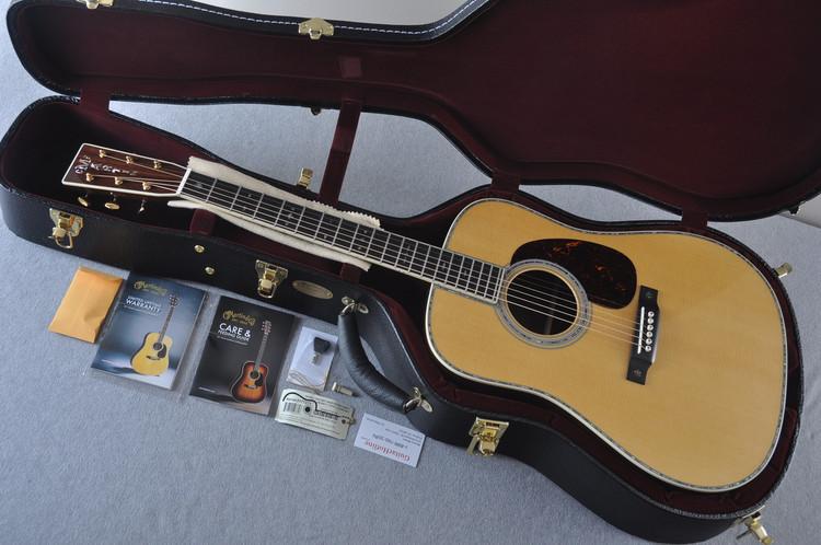 Martin D-42 (2018) Standard Acoustic Guitar #2177271 - Case