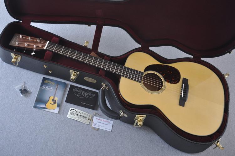 Martin Custom Shop 000-18 Adirondack Spruce Top Acoustic Guitar #2186824 - Case