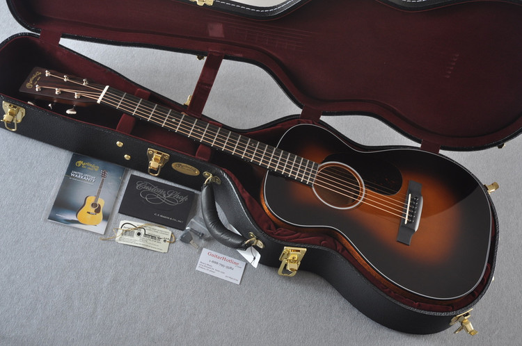 Martin Custom Shop 0-18 Adirondack Spruce Sunburst Guitar #2186826 - Case
