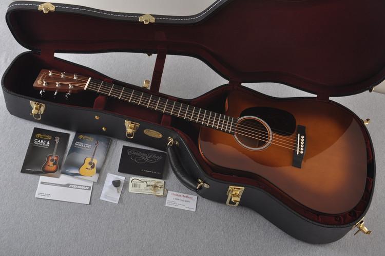 Martin Custom Shop DCPA4 Adirondack Ambertone #2193586 - Case