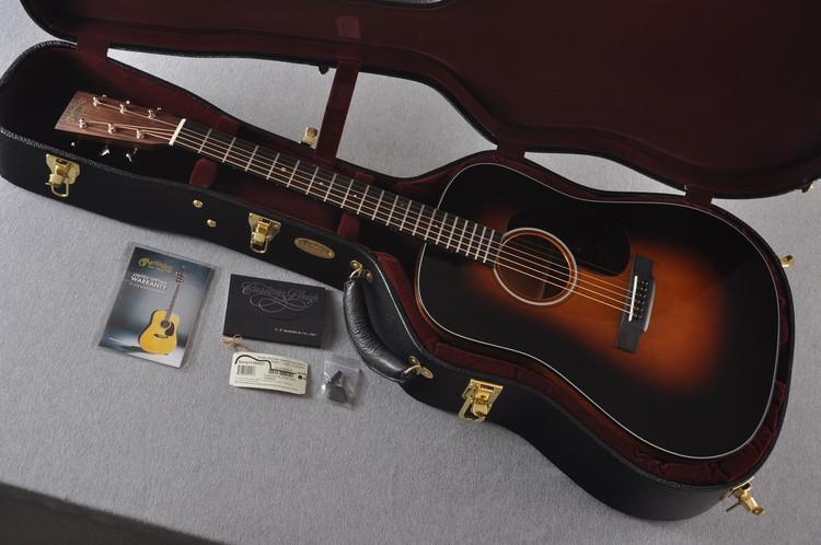 Martin Custom Shop D-18 Adirondack 1935 Sunburst Acoustic Guitar #2186827 - Case